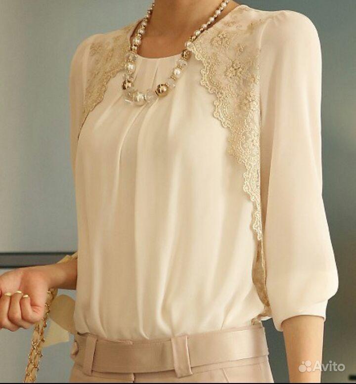 Кружевная Блузка Где Купить