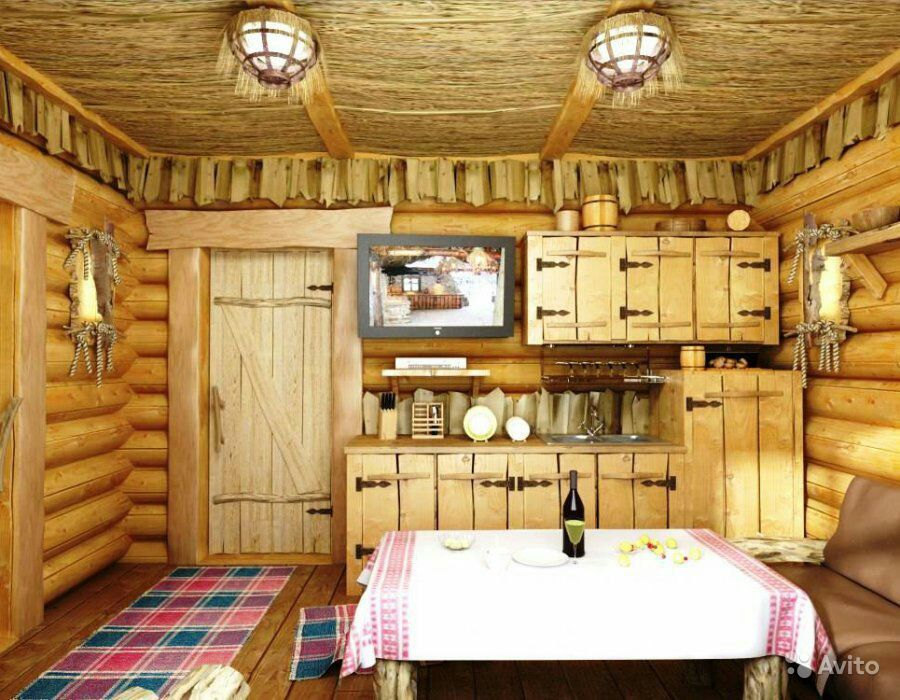 Дом в деревни дизайн