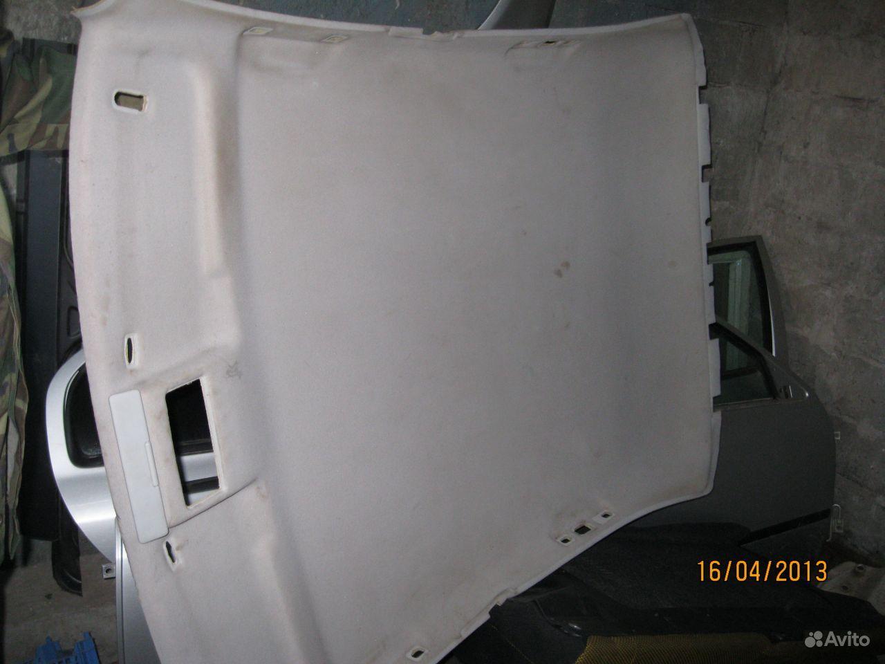 Потолок skoda octavia 2 фотография