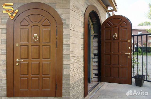 арочные входные двери москва