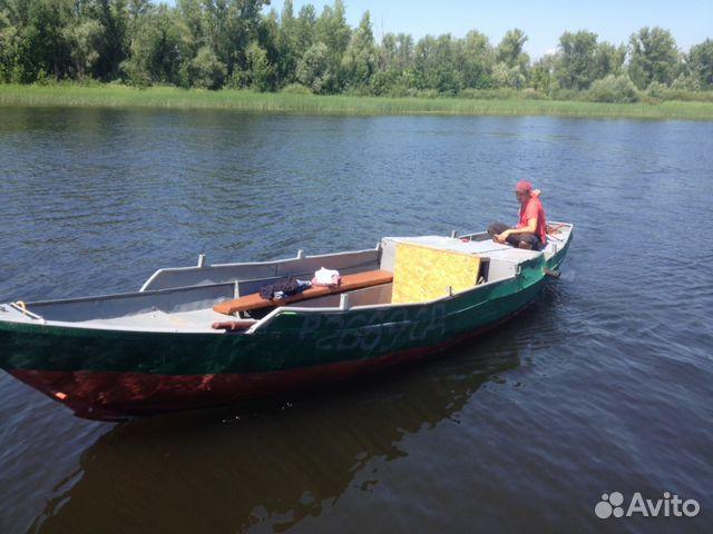 продается лодка гулянка