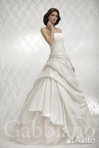 Продам шикарное свад. платье Gabbiano Шарлотта 89602695150 купить 1