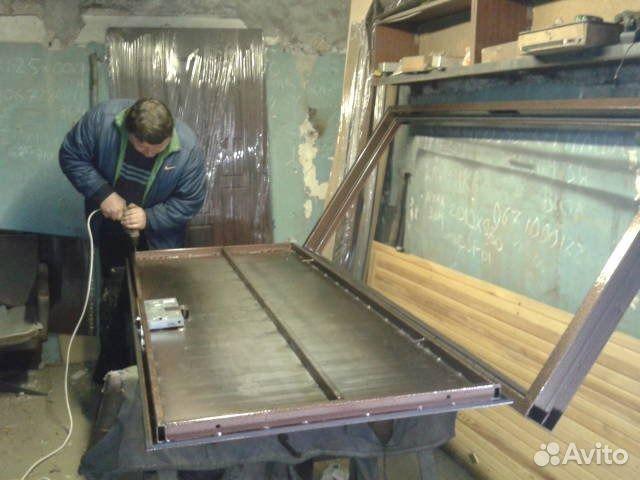 Железные двери изготовление своими руками