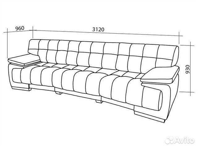 чертежи диванов для гостиной