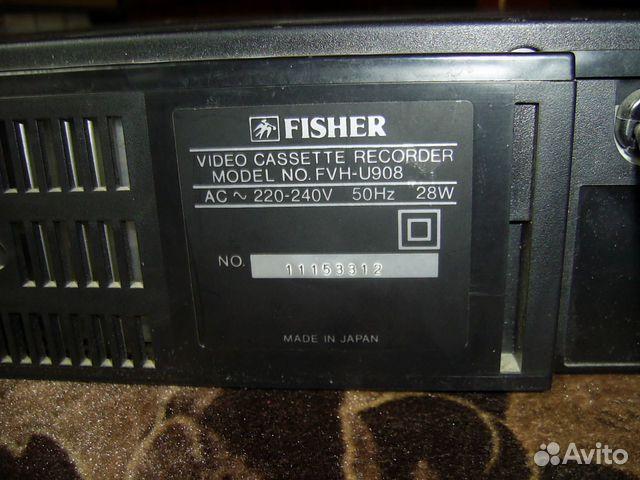 Видео магнитофон fisher