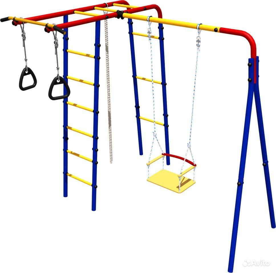 Детская площадка для дачи своими руками 37