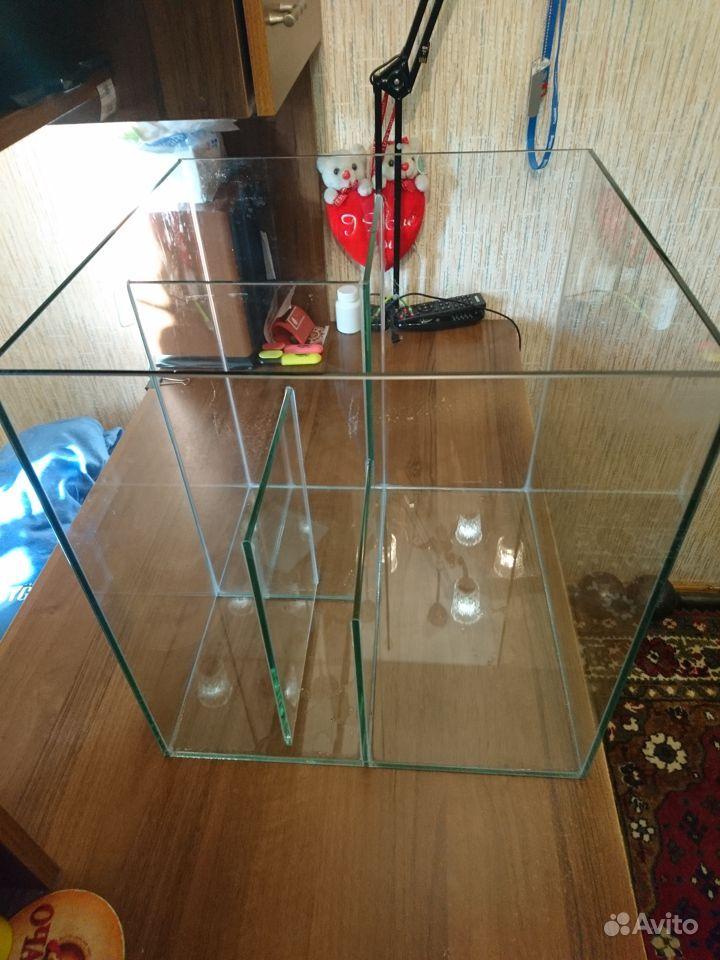 Продаю аквариум 37*37*40 см купить на Зозу.ру - фотография № 1