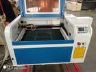 Лазерный станок 6040 CO2 80Вт reci Ruida+ CW5000