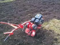 Вспашка земли мотоблоком,покос травы