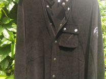 e6869e69b52b Armani Jeans черная бархатная рубашка размер М купить в Ульяновской области  на Avito — Объявления на сайте Авито