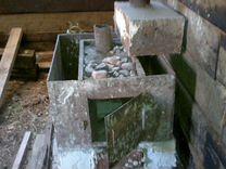 Печь для бани, боровок, песочница