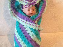 Плед для новорожденного ручная работа