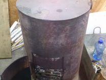 Печь буржуйка бочка 300литров — Ремонт и строительство в Балаково
