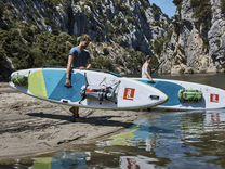 SUP надувной RED paddle 19 13'2 voyager+ RSS — Спорт и отдых в Сочи