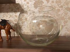 Новый круглый аквариум