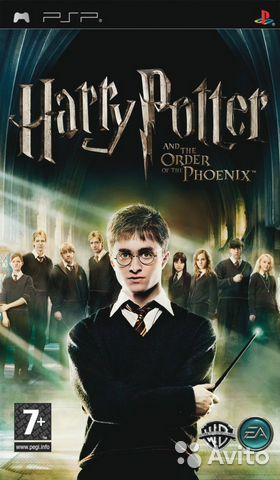 Harry Potter and Order of the Phenix - для PSP— фотография №1