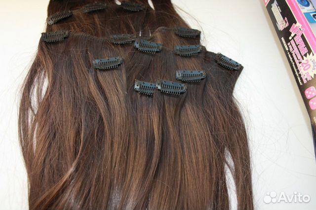 Фото натуральные волосы на заколках