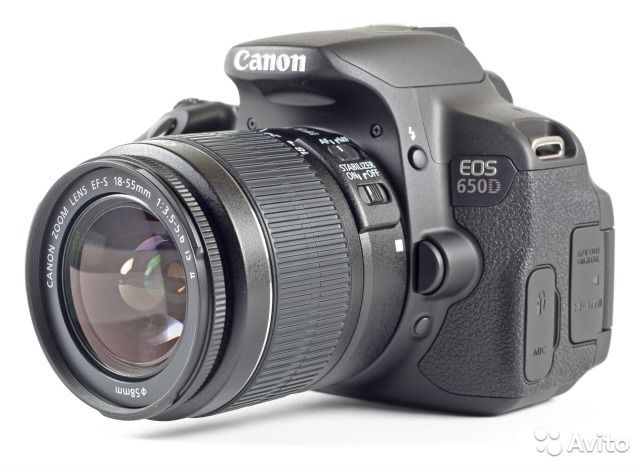 Canon EOS 650D Kit EFs 18-55 is II— фотография №1