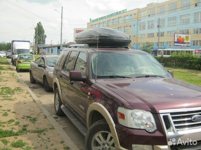 багажник на крышу для ford explorer