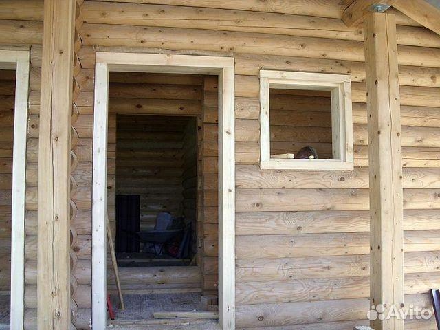 расценки на установку входной двери в брусовом доме