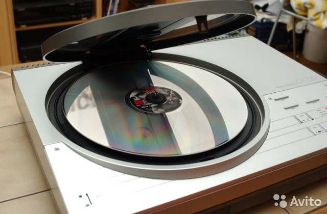 Laserdisc Player philips VLP720 проигрыватель