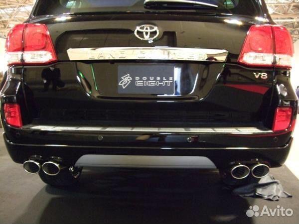 Toyota Land Cruiser 200 - раздвоенный выхлоп Elite