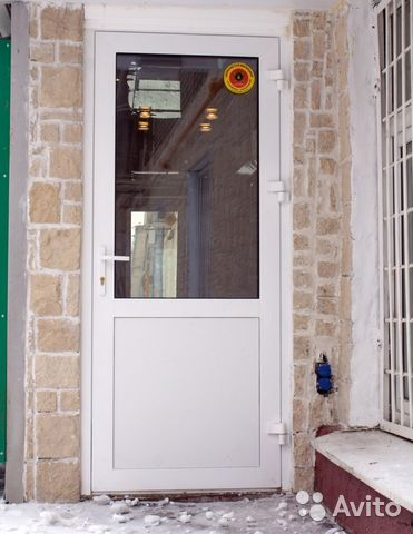 одностворчатая металлическая дверь индивидуальная