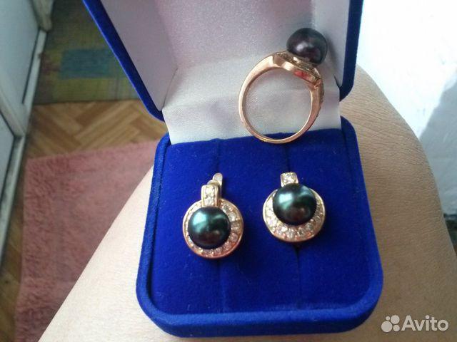 Продам золотые серьги и кольца купить в Кемеровской области на Avito ... 27439b5d474