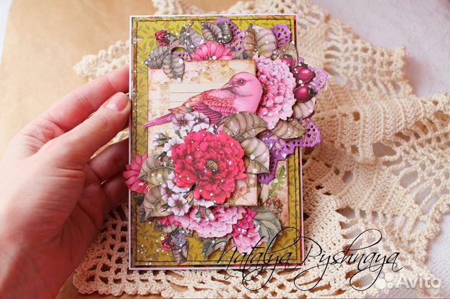Сиреневые цветы, работа открытки ручной работы вакансии краснодар