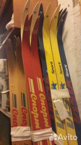 Лыжи спортивно беговые СССР с креплениями новые купить в Санкт ... e7c2ed977fc