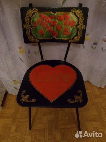 3805dd8ff707 Дизайнерский стул-букет - уникальный подарок купить в Санкт ...