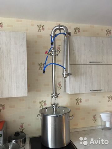 Купить самогонный аппарат бу в красноярске как сделать охладитель для самогонного аппарата без проточной воды