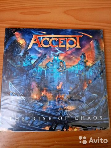 Accept - The Rise of Chaos. 2017
