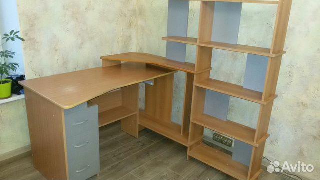 компьютерный стол угловой с полками Festimaru мониторинг объявлений