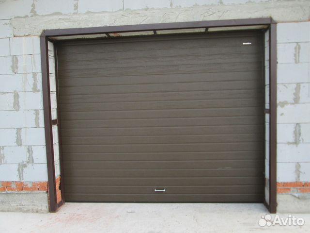 Ворота на гараж где купить пермь купить гараж пенал в великом новгороде