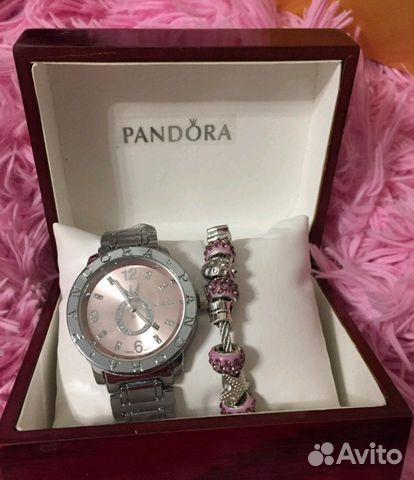 часы пандора с браслетом в оригинальной коробке Festimaru