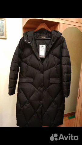 Совершенно новое пальто - пуховик с биркой.