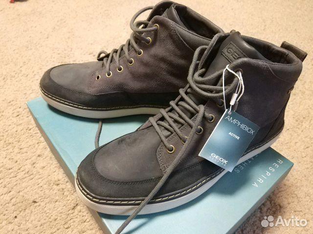 bad0c07ee Мужские итальянские Ботинки Geox   Festima.Ru - Мониторинг объявлений