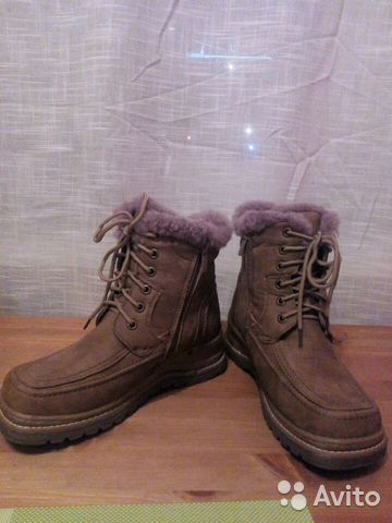 Новые зимние ботинки нубук и овчина   Festima.Ru - Мониторинг объявлений 22abeaffc20