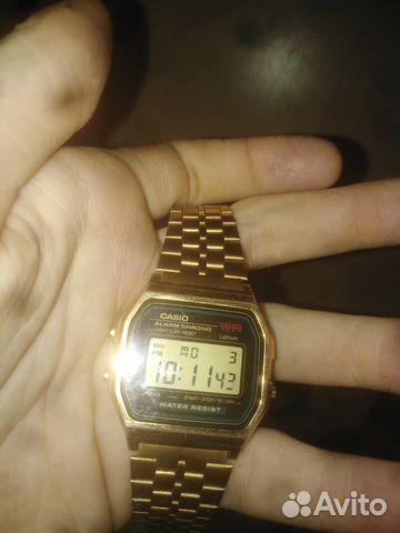 b57fc8cf Японские часы Casio Позолоченные оригинал | Festima.Ru - Мониторинг ...