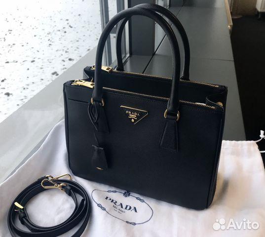 c04ec8a8d16f Сумка Prada galleria saffiano lux купить в Москве на Avito ...