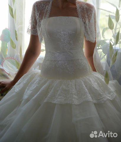 Авито продажа свадебного платья