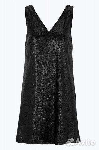 3cf48c1d386 Шикарное вечернее нарядное платье черное с пайетка. № 1706815494 ...
