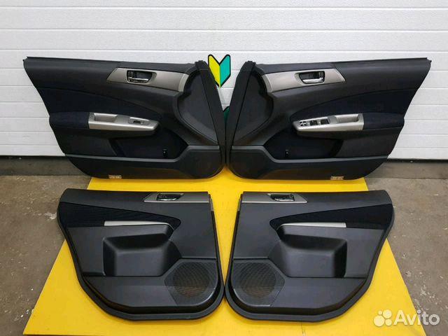 89625003353 Обшивка дверей комплект Subaru Forester, SH5, EJ20