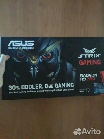 Видеокарта Asus strix R9 390 8Gb
