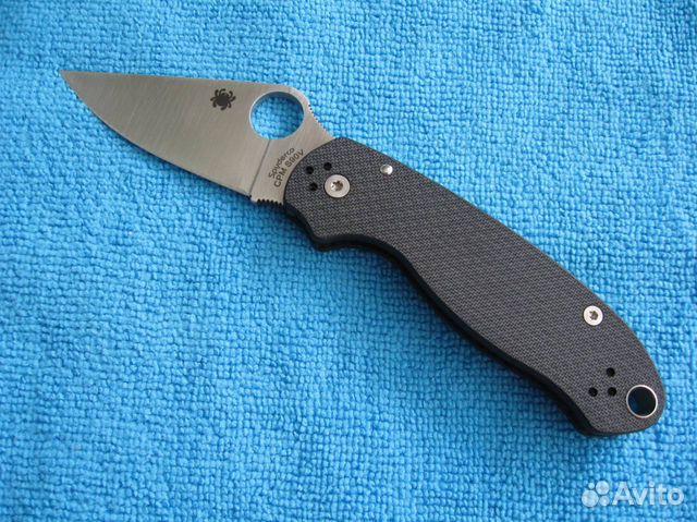 Новый нож Spyderco Para 3 CF Sprint Run (s90v) - Хобби и отдых,  Коллекционирование - Москва - Объявления на сайте Авито