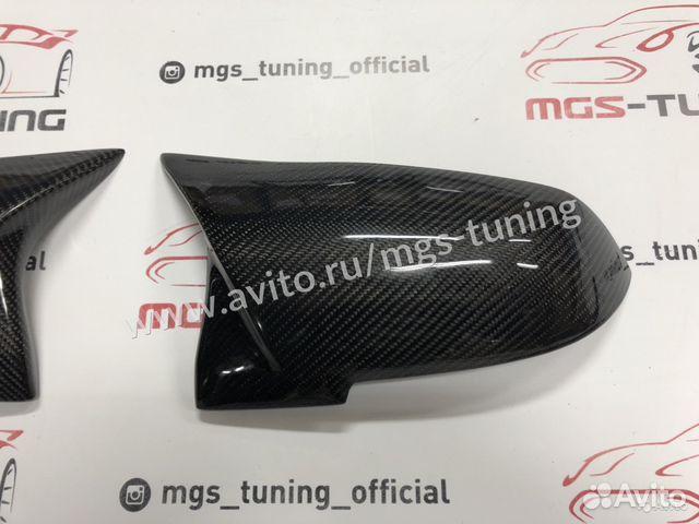Накладки на зеркала (крышки) М2 на BMW F22 карбон 89186774177 купить 2