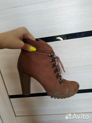 Ботинки осенние (нат.кожа)