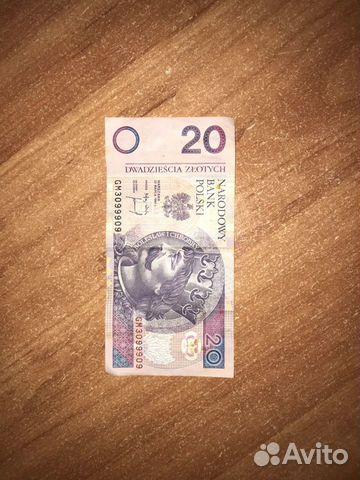 Польша 20 златых 1994  89208440588 купить 2