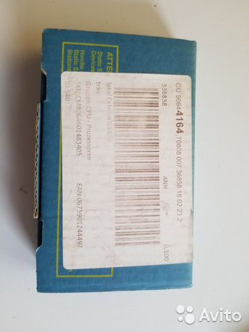 Процессор intel Celeron Processor G1820 2700MHz  89998004130 купить 4